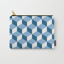 cubicle pattern Carry-All Pouch