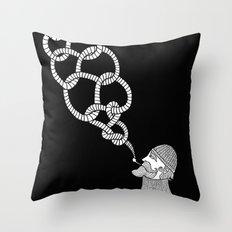 Sailors Knot Throw Pillow