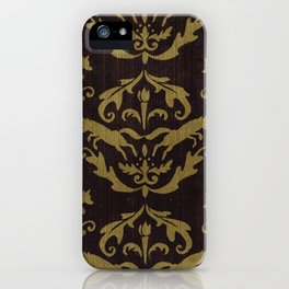 Fox Damask iPhone Case