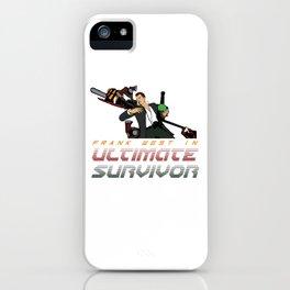 ULTIMATE SURVIVOR iPhone Case