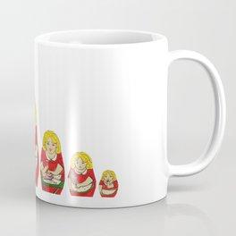50s Housewife Russian Doll Coffee Mug