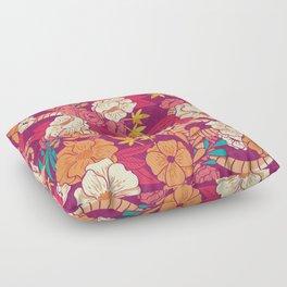 Jungle Pattern 002 Floor Pillow