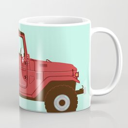Toyota Landcruiser FJ40 Soft Top Coffee Mug