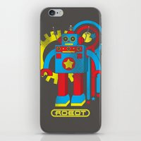 law iPhone & iPod Skins featuring Asimov's Law by Maggie Davidson