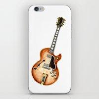 guitar iPhone & iPod Skins featuring Guitar by Bridget Davidson