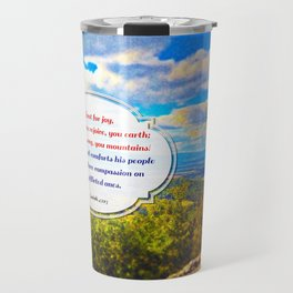Shout for Joy! Travel Mug