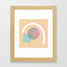 Imperfect Geometries #4 Framed Art Print