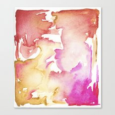 pink wash Canvas Print