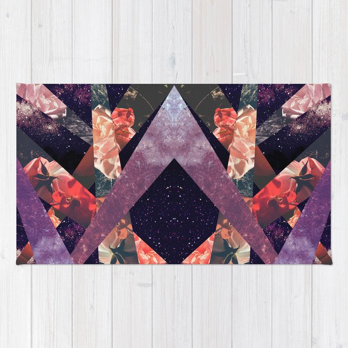 ROSES IN THE GALAXY Rug