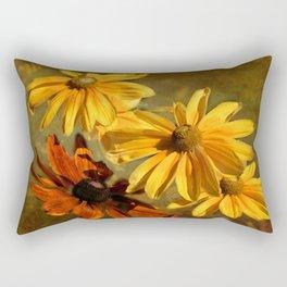 Sunshine in my Garden Two Rectangular Pillow