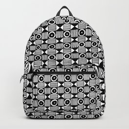 Lion Face Pattern Backpack