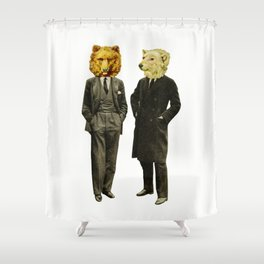 The Likely Lads Shower Curtain