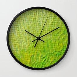 Green 02 Wall Clock