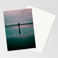 alone. Stationery Cards