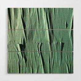 NYC Walls (zelen v.2) Wood Wall Art