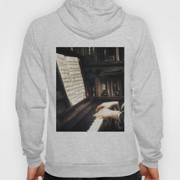 Music. The piano lesson. Hoody