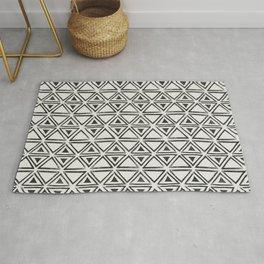 Block Print Diamond Rug