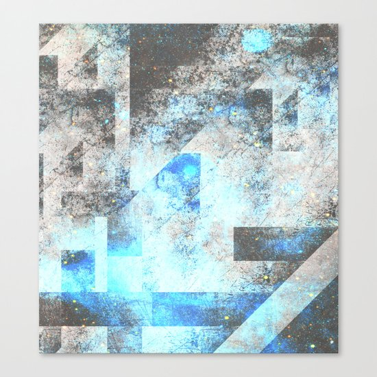 Blue Topaz NebulÆ Canvas Print