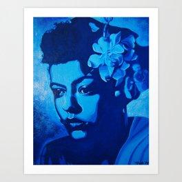 Lady Billie Art Print