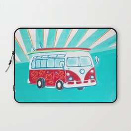 Surfer Sunrise Laptop Sleeve