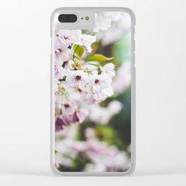 Springtime Blossom Clear iPhone Case