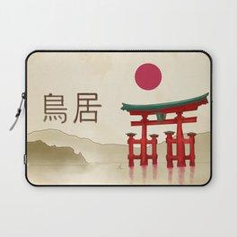 Torii Gate - Painting Laptop Sleeve