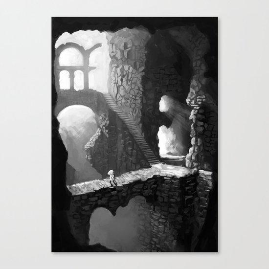 Delve Canvas Print