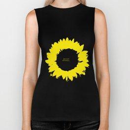 Sunflower1 Biker Tank