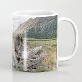 Wilderness Wood Sculpture Coffee Mug