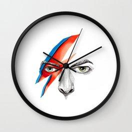David Bowie Ziggy Stardust Wall Clock