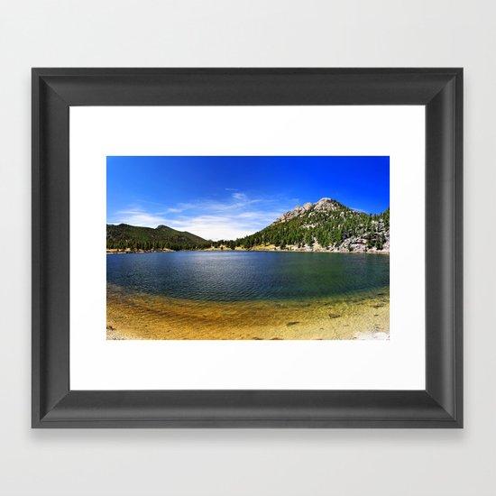 Lily Lake Framed Art Print
