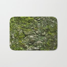 Green wall Bath Mat
