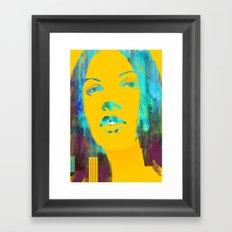 Risetime 1 Framed Art Print