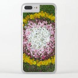 Dandy Circle Clear iPhone Case