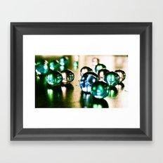 Droplets of Color Framed Art Print