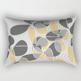 Retro Petals Rectangular Pillow