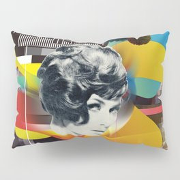Television Art Pillow Sham