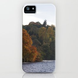 Autumn from Ness Island Inverness iPhone Case