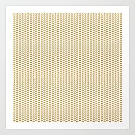 Hamburger pattern Art Print
