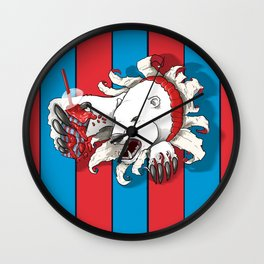 Polar Attraction for Icee Wall Clock