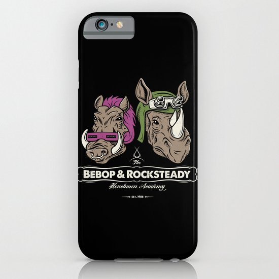 Bebop & Rocksteady Henchmen Academy  iPhone & iPod Case