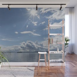 Sailing Sun Burst Wall Mural