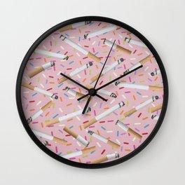 Mouth Full O'Honey Wall Clock