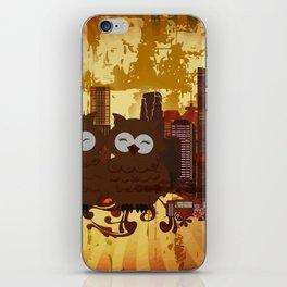 Grossstadteulen iPhone Skin