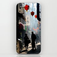 kobe iPhone & iPod Skins featuring An Afternoon in Kobe, Japan by Jason Halayko