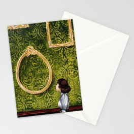 Talking of Michelangelo Stationery Cards