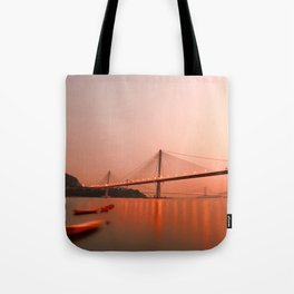 Hong Kong–Zhuhai–Macau Bridge Tote Bag