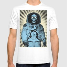 Punk Space Kook MEDIUM White Mens Fitted Tee