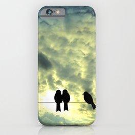 Birds Silhouette iPhone Case