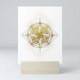 Golden Compass Mini Art Print